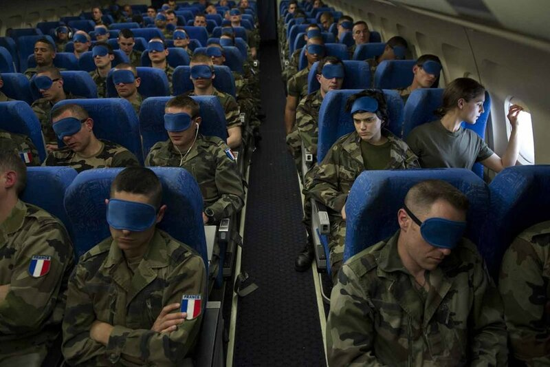 masque avion