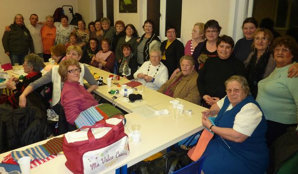 Les tricoteuses solidaires de Fourmies