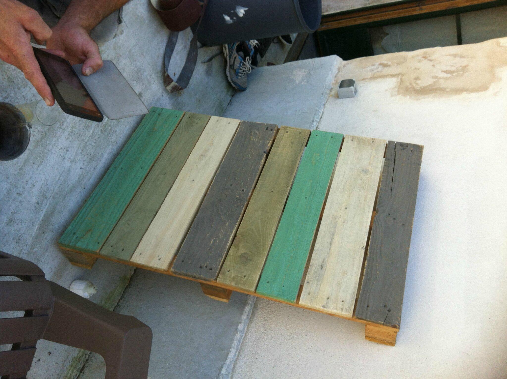 Fabriquer une table basse de jardin for Fabriquer une table de jardin