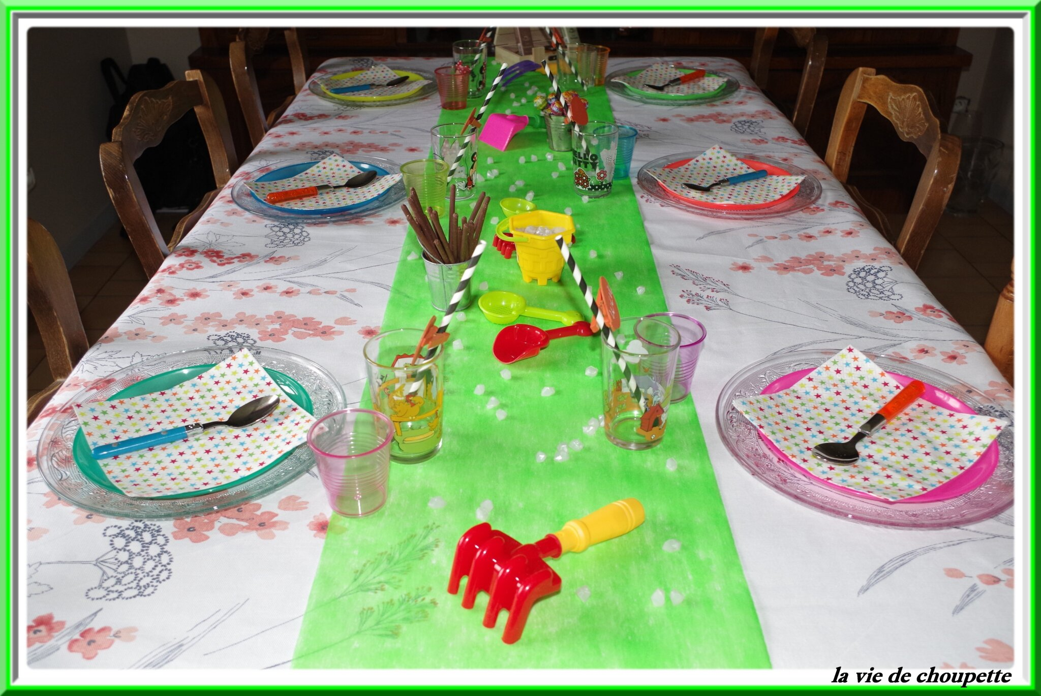 MA TABLE SPECIALE ENFANTS