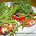 Tartine tomate et feta