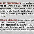 Saint-gence : week-end des 16 et 17 septembre 2017