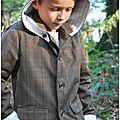 Une veste de grand pour mon petit homme.