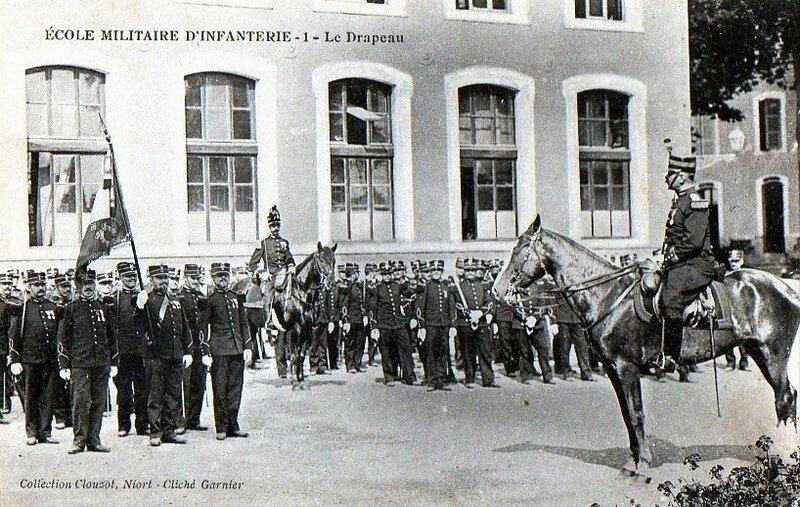CPA Saint Maixent Ecole militaire R