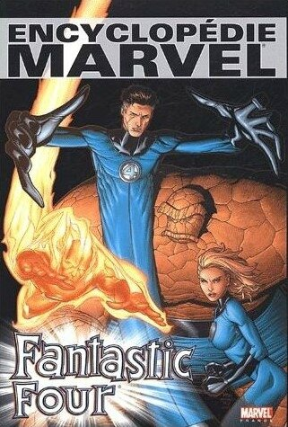 marvel deluxe encyclopédie fantastic four
