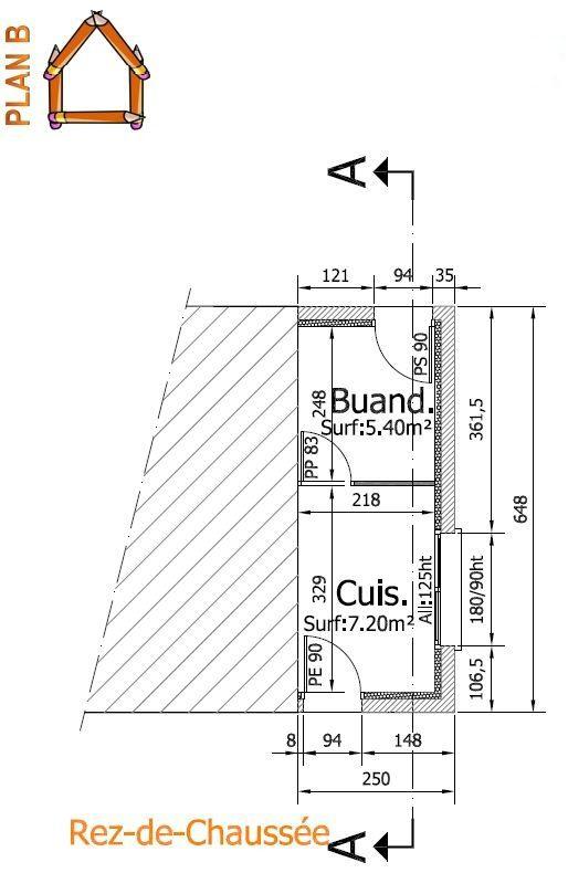 R alisation d 39 une extension r alisation des plans plan b for Permis de construire en zone agricole