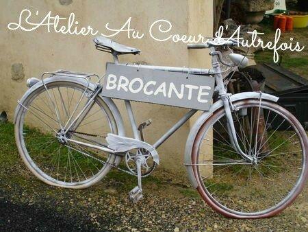 mon vélo brocante signé