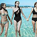 Claudine auger and friends
