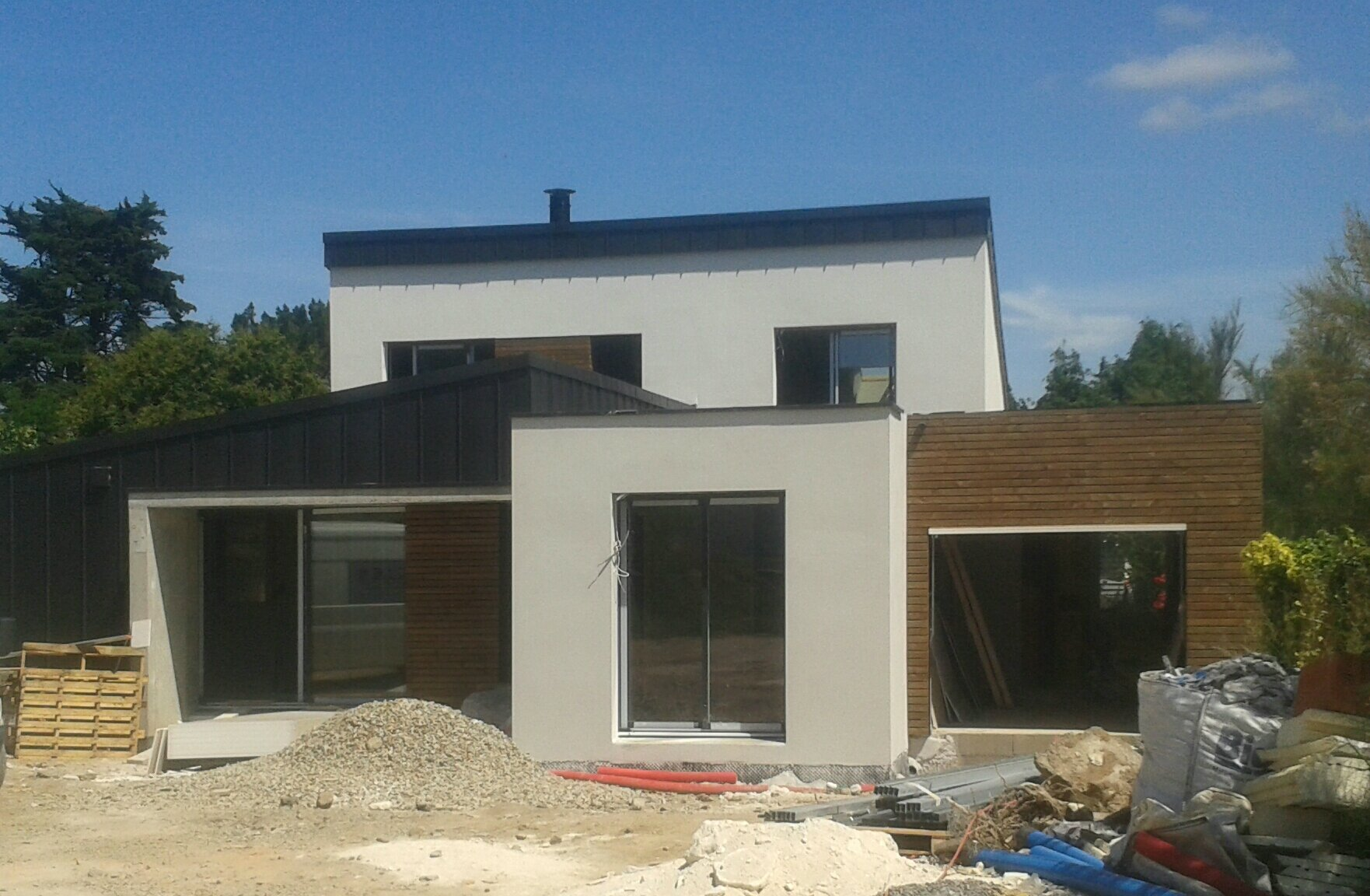 Construction D 39 Une Maison Arzon Briquet Jacquis