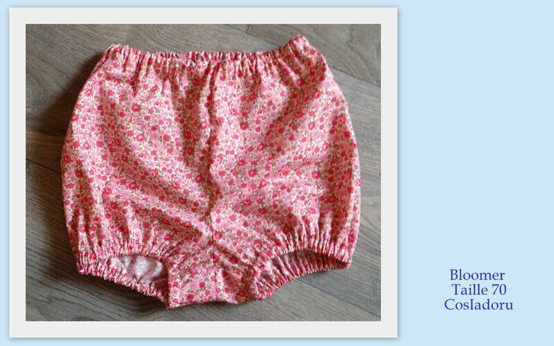 Bloomer taille 70c