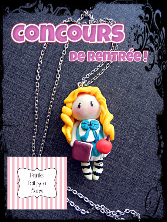 concours prunillefee pendentif poupée