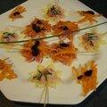 Fleurs d'emmental et de gouda