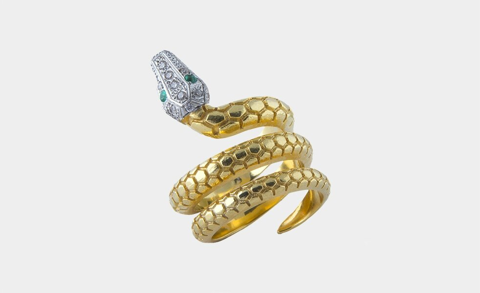 Mallarino's Dulcinea Serpent Ring