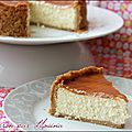 Cheese cake coco citron vert, caramel à la mangue...