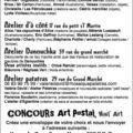 Hiv 10: Le P'tit bazar de l'atelier Rouge Pistache