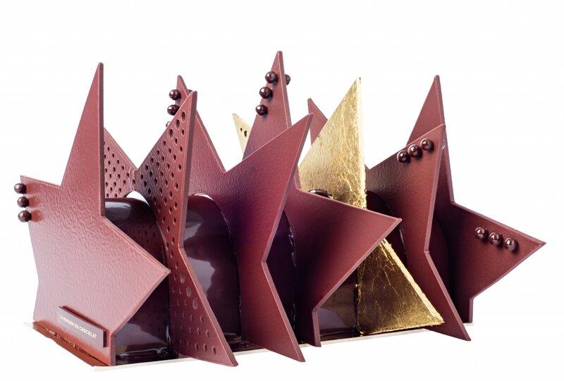Maison du chocolat Bûche - Taille unique de 68 personnes - 95€ profil