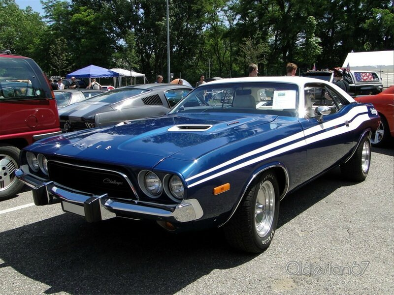 dodge challenger 340 hardtop coupe 1973 a