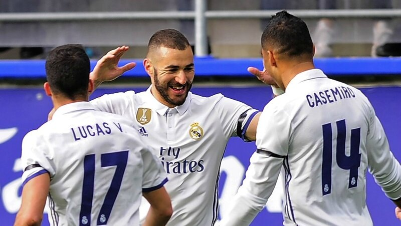 But Eibar Real Madrid, résumé Eibar Real Madrid, video Eibar Real Madrid, but benzema