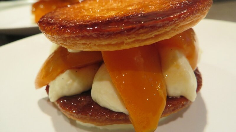 Mille feuille abricots (4)