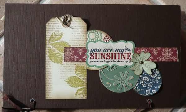 mini album souvenirs par Cathyscrap85 33