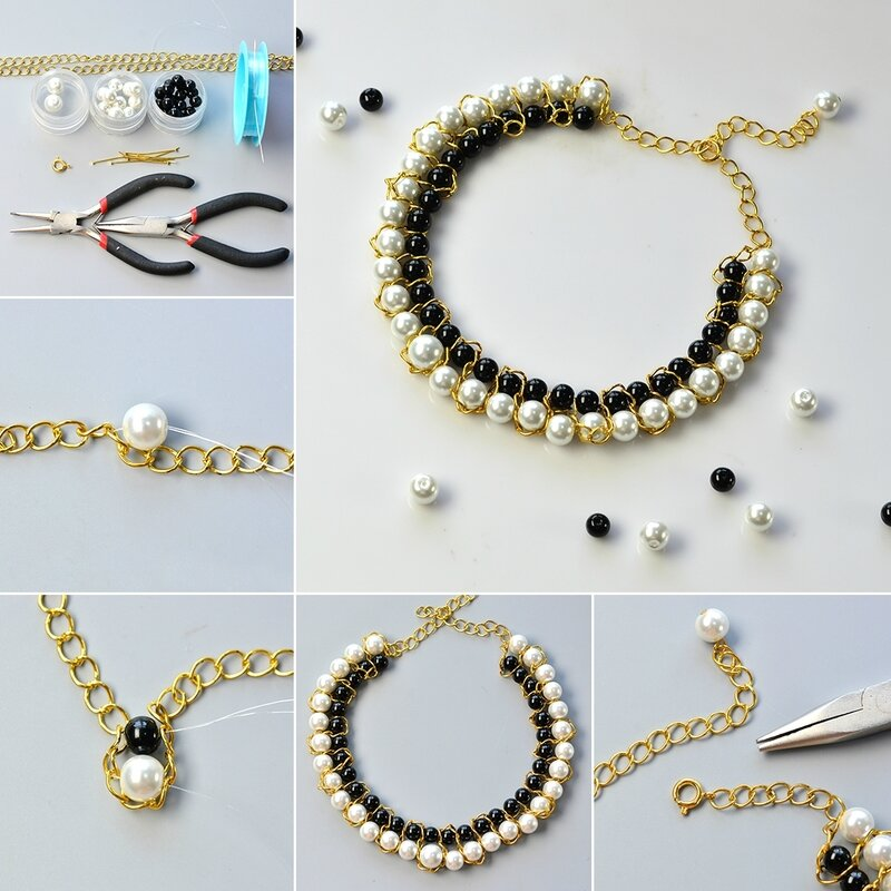 1080-Easy-Tutorial-on-How-to-Make-a-Beaded-Black-and-White-Choker-Necklace