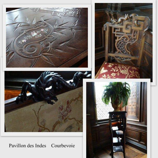 Pavillon Indes meubles