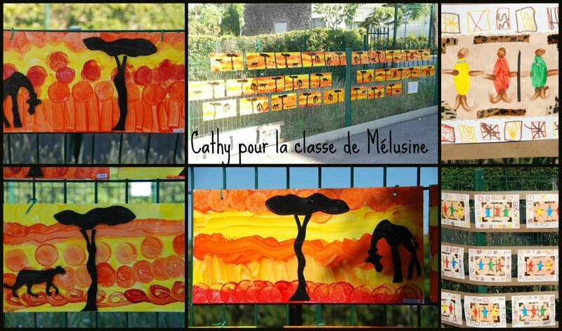 Afrique Cathy Collage