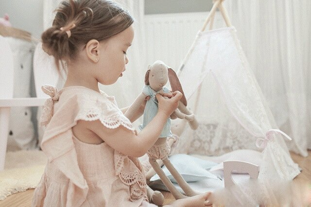 Bébé-fille-d-été-douce-rose-Blouses-volants-et-dentelle-vêtements-coton-et-lin-occasionnels-vête