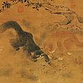Cats at play, shang hsi, ming dynasty, hanging scroll