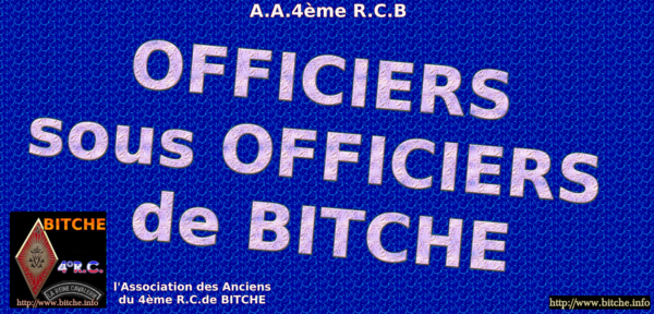OFFICIERS SOUS OFFICIERS DE BITCHE 001