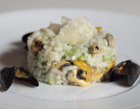 MOULES_ET_BROCOLIS_EN_RISOTTO