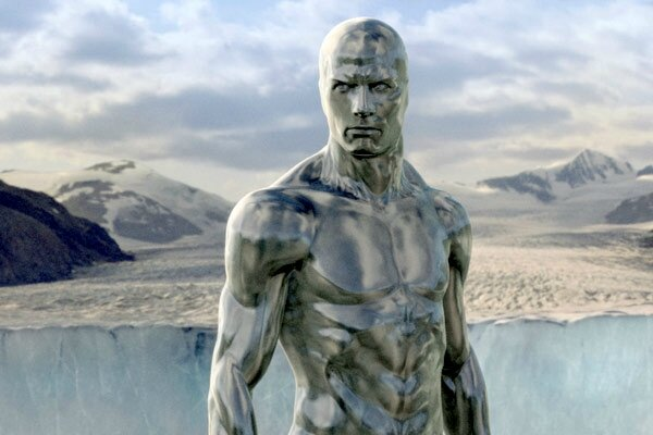 Silver surfer (photo)