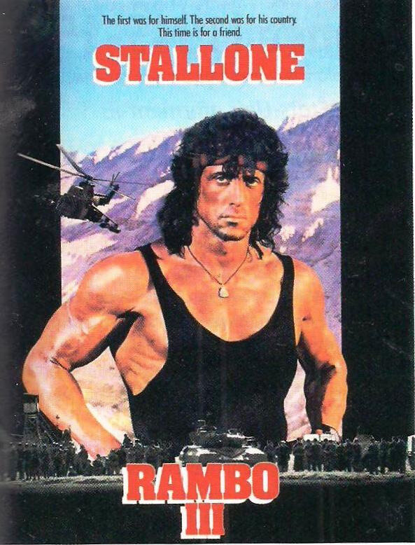 affiche GF puissance US - puissance culturelle Rambo III