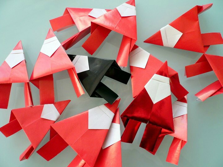Origami en bateau lakevio - Origami de noel facile ...