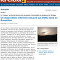 27/12/2009 - LA CLAU consacre un article sur OVNI66