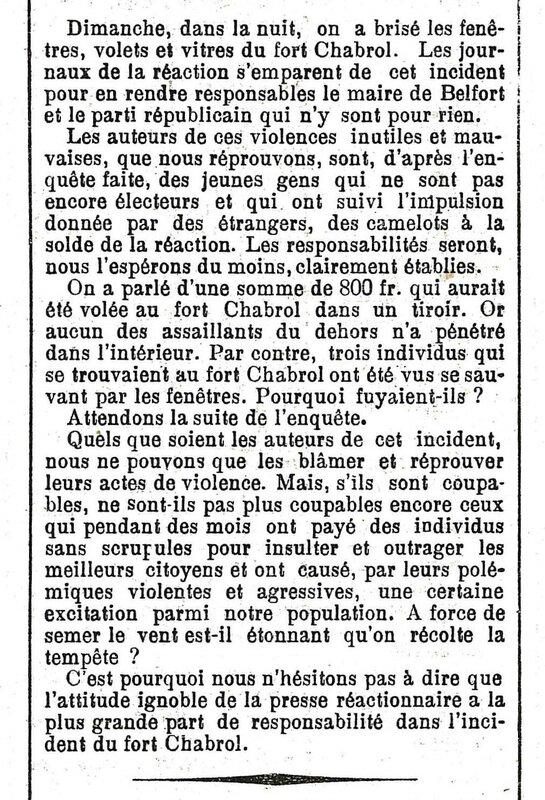 1904 05 05 Election municipales La Frontière p3R1
