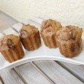 Muffins aux pépites de chocolat de noix de pécan
