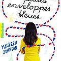 Treize petites enveloppes bleues, de maureen johnson