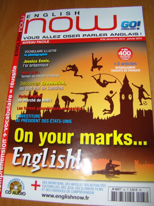 Lire en anglais la revue english now le blog d for Revue en anglais