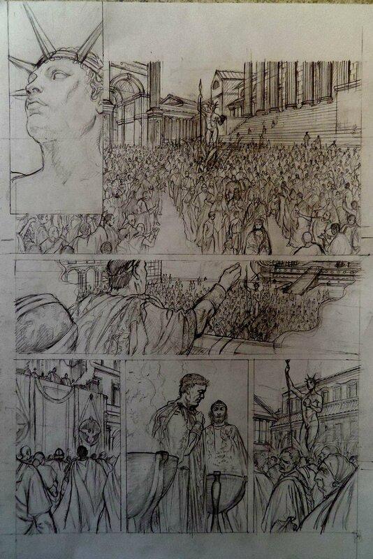 Roma T5 crayoné 34