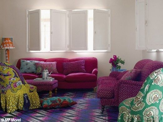 Inspiration africaine - Sonia Saelens déco