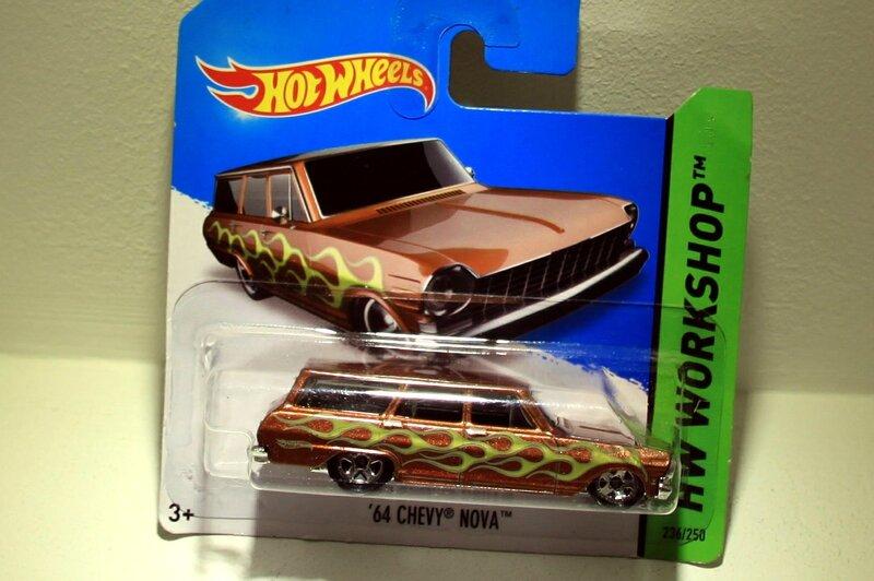 Chevrolet nova wagon de 1964 (2014)(Hotwheels)