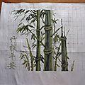 Un tigre et des bambous