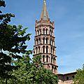 La basilique saint sernin toulouse
