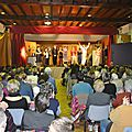 Théâtre samedi 12 mars à saint-gence : salle comble et comblee !
