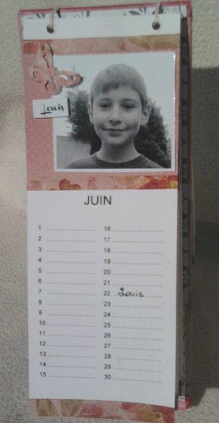 calendrier juliloueva Juin