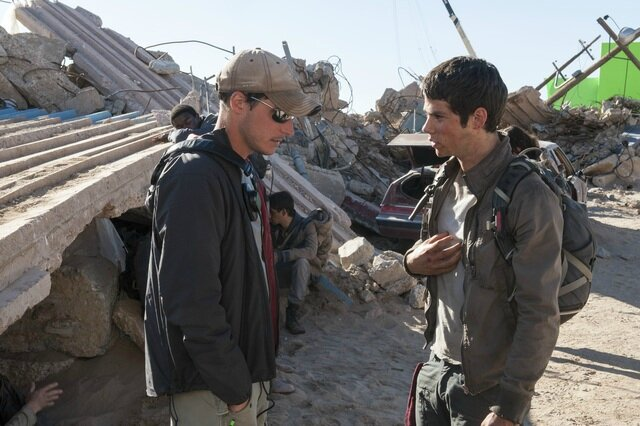 The Maze Runner Scorch Trials On The Set 03