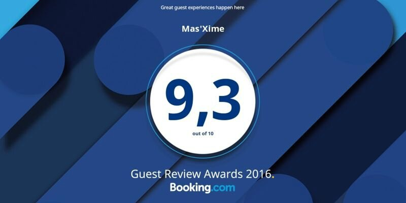 Booking Award 2016 ! Merci à tous nos clients