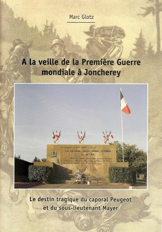 Livre Destin tragique Caporal Peugeot 001