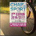 - chap'en sport - 15 janvier à 9h sur la place foch à chaponost